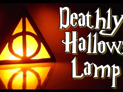 DIY Deathly Hallows Lamp | DIY Room Decor | Get Creative With Me  !