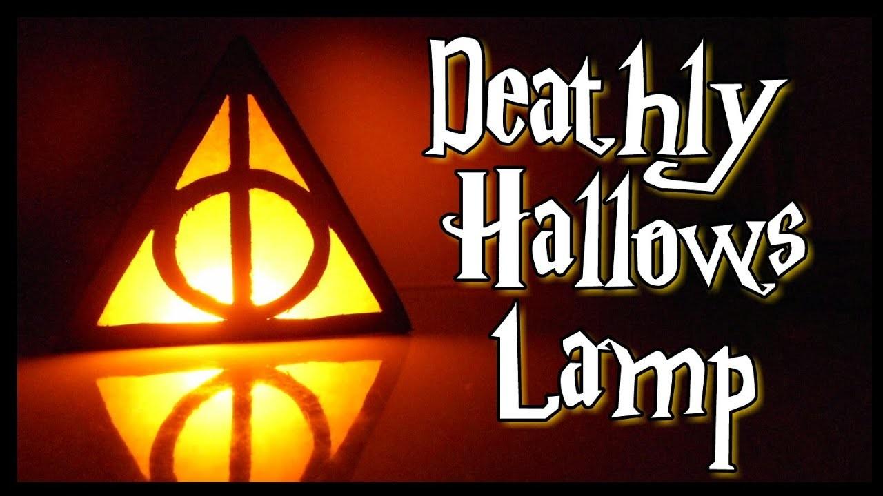 DIY Deathly Hallows Lamp | DIY Room Decor | Get Creative With Me  !