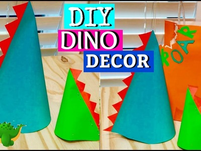 DIY Dinosaur Centerpieces Birthday Party Decor