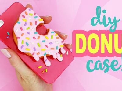 DIY DONUT PHONE CASE!!   Fun Clay DIY!