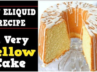 DIY Eliquid – A Very Yellow Cake Recipe 60%VG (DIY Ejuice Yellow Cake Recipe Alternative)
