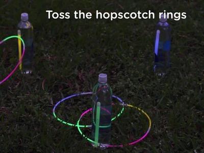 DIY Glow in the Dark Games