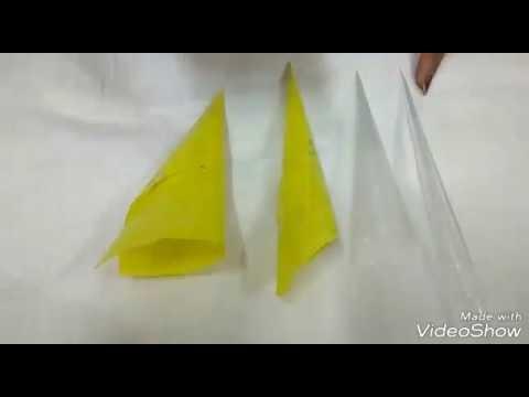DIY Heena Cone || How To Make Mehndi Cone At Home || Easy Way To Make a Heena cone