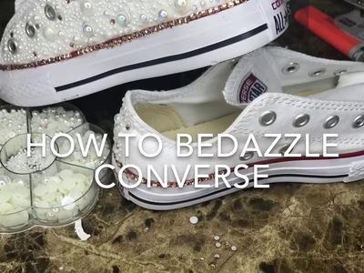 DIY | How To Bedazzle Converse |