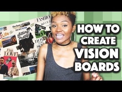 DIY: HOW TO CREATE A VISION BOARD || Sitting Pretty