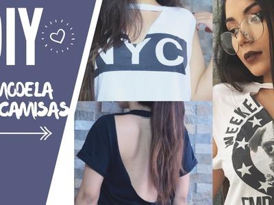 DIY Ideas para remodelar tus camisas viejas
