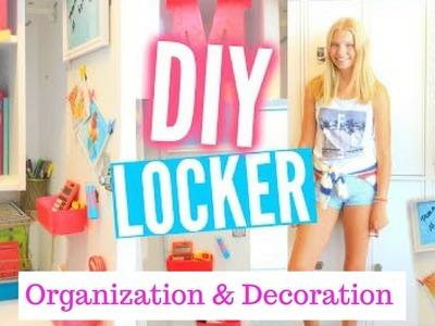 DIY Locker Organization & Decoration for Back to School Tips