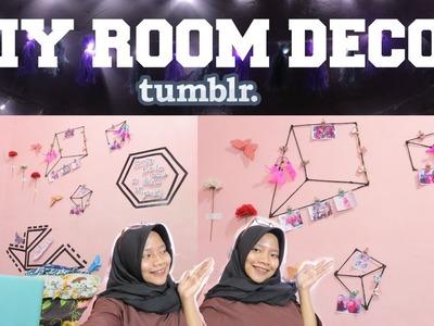 DIY ROOM DECOR TUMBLR INDONESIA 2017 (AFFORDABLE & EASY)