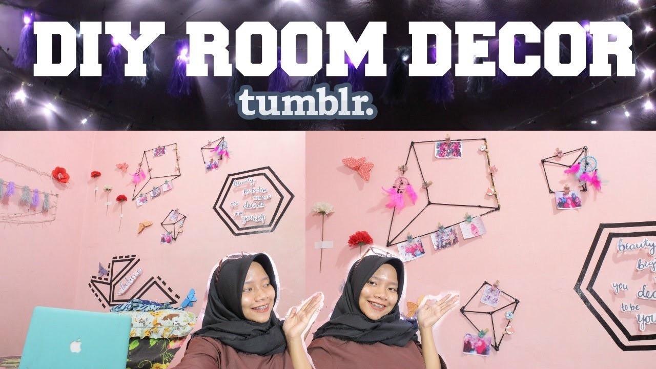 Diy room decor tumblr indonesia 2017 affordable easy for Room decor diy tumblr
