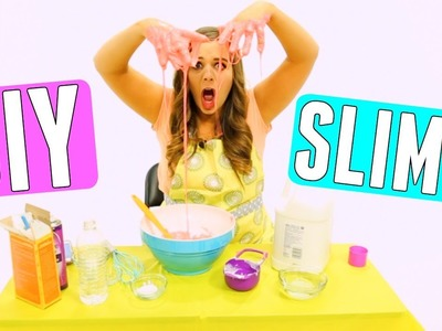 DIY SLIME FAIL!! VIRAL DIYS TESTED + HOW TO MAKE SLIME! CRAZY DIY SUMMER PROJECTS 2017!