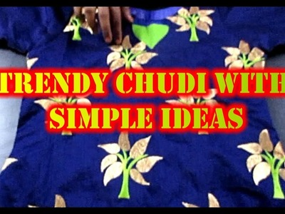 ✔ DIY TRENDY CHUDI WITH SIMPLE IDEAS 2017 IN TAMIL