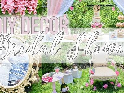 DIY: Vintage, Boho Bridal Shower || Decor Inspo and Ideas || Harry Potter Accents