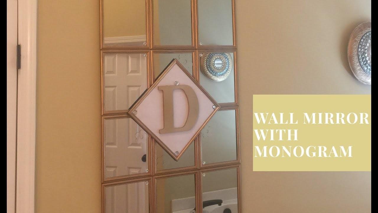 Decorative Wall Mirror With Tree Design : Dollar tree diy decorative wall mirror my