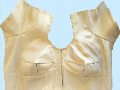 Double and Single Katori Blouse Cutting and Stitching ( DIY)
