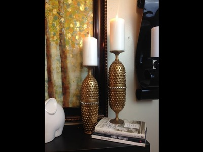 "EASY ""DIY"" Candlestick Holders"