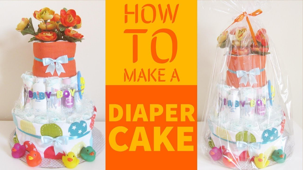 How To Make A Professional Diaper Cake Step By Step Guide.