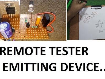 How To Make An IR Remote Tester Using IR Receiver easily