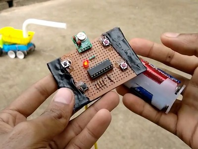 How to make long range wireless remote control(rc)car