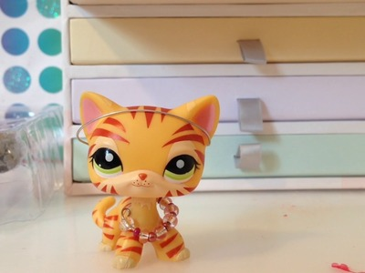 How to make lps necklace & headband diy