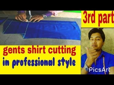 Men's shirt cutting. Gents shirt (DIY) easily men full hand.sleeve. shirt cutting  ( 3rd part)