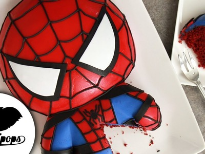 SPIDERMAN Cake   Marvel Party Ideas   DIY & How to