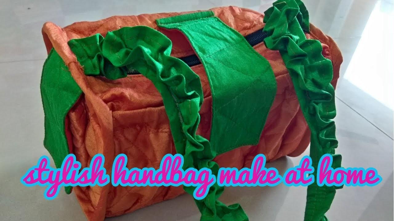 how to make handbags at home