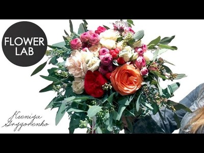 WEDDING BOUQUET How to make a ROSE BOUQUET diy Flowers