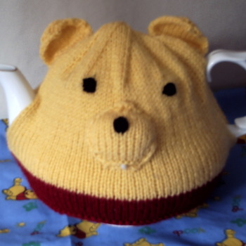 Winnie the pooh hand crafted tea cosy