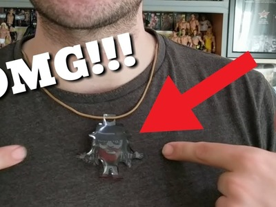 WWE Tutorial - How To Make A Wrestler Pendant. Necklace!!!