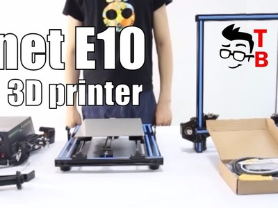 Anet E10 First Review: Budget 3D Printer (Official video)