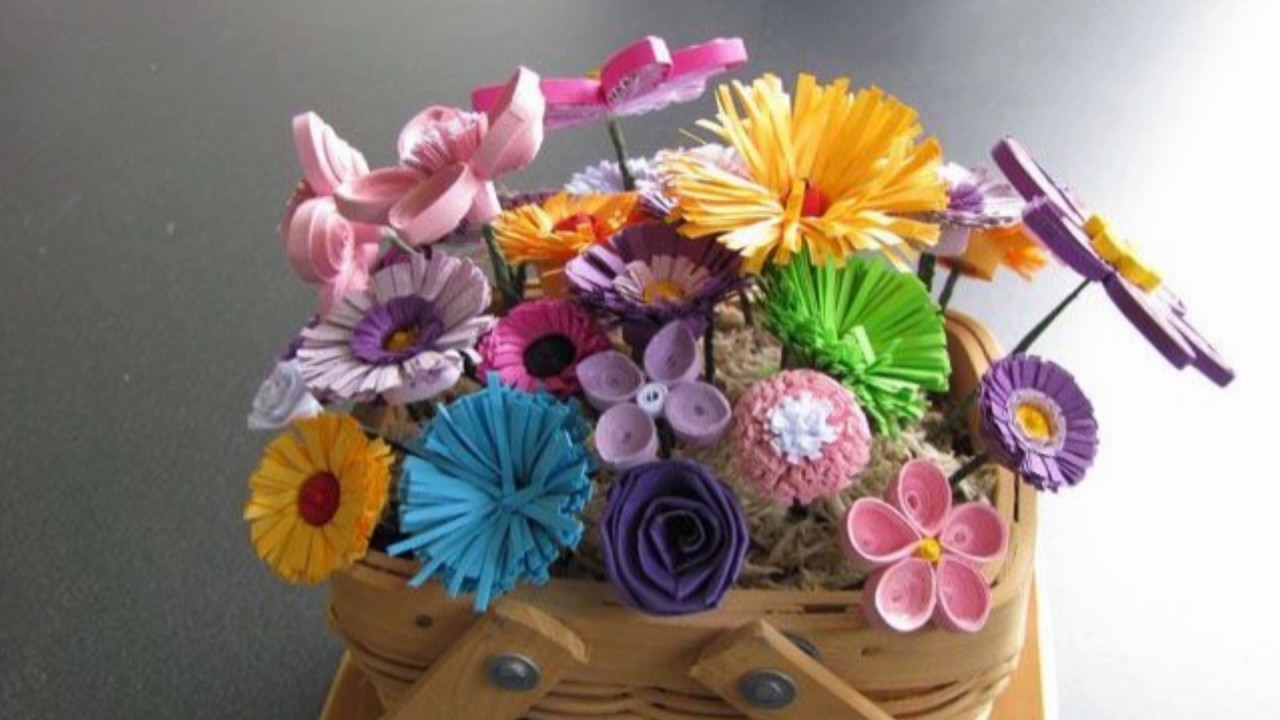 Beautiful paper quilling my crafts and diy projects for Quilling paper craft ideas
