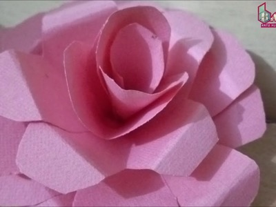 Create Paper Rose | With Very Simple Steps | Origami Art