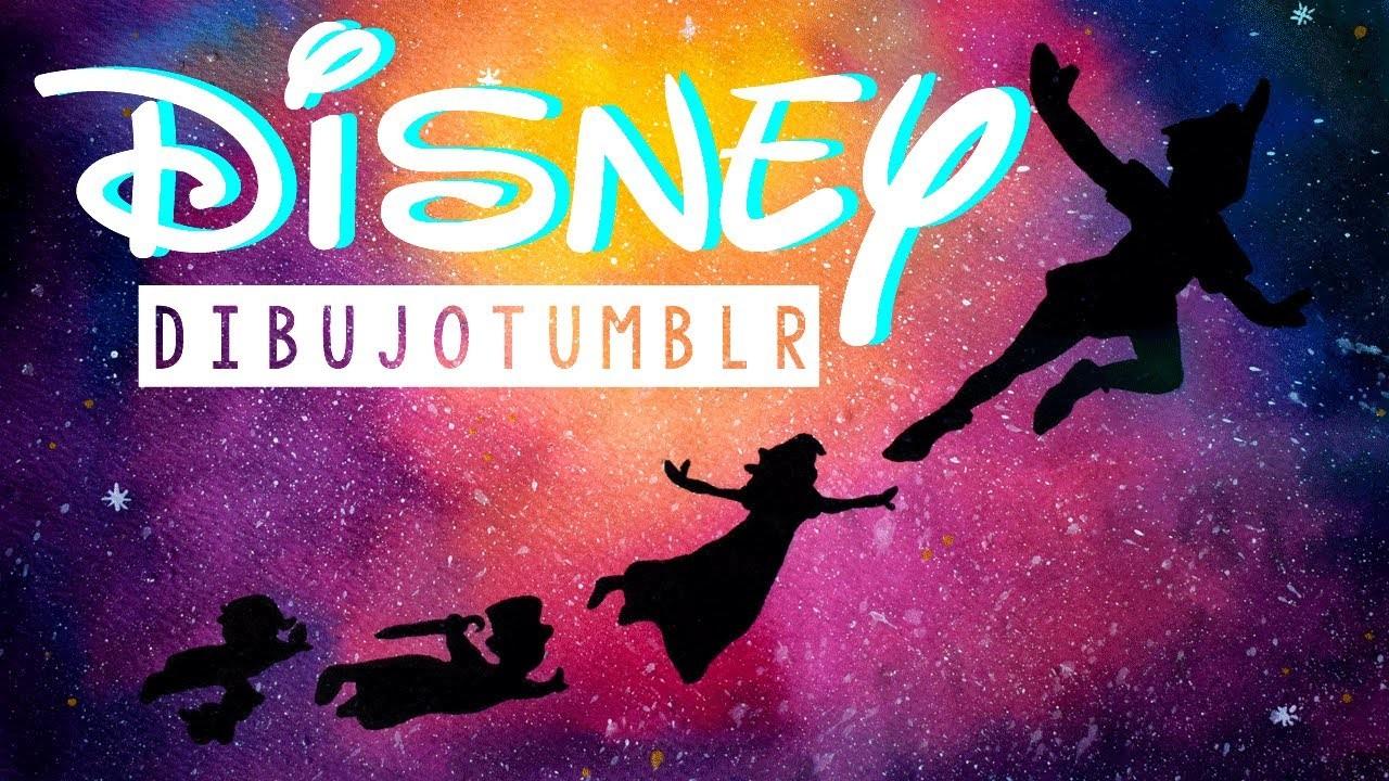 Dibujos Animados De Disney Para Colorear Peter Pan Peter: DRAW DISNEY TUMBLR (GALAXIA PETER PAN