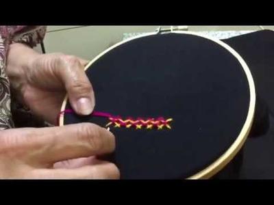 Hand Embroidery Balochi stitch designs 'part .2