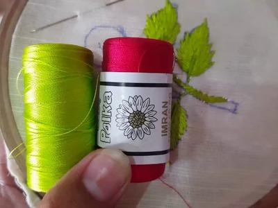 Hand embroidery Brazilian for Romanian stitch Design