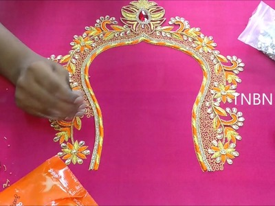Hand embroidery designs | basic embroidery stitches | embroidery stitches for beginners