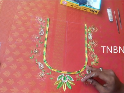 Hand embroidery designs | basic embroidery stitches | hand embroidery tutorial for beginners
