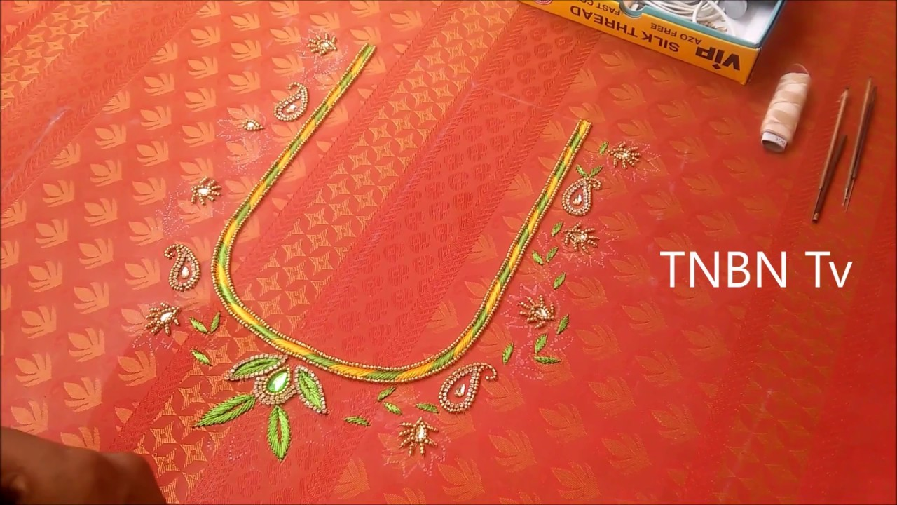 Hand Embroidery Designs Basic Embroidery Stitches Simple Maggam