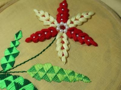 Hand Embroidery designs   Elegant stitch   Stitch and Flower-155