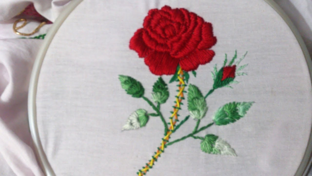 Hand Embroidery Stitches Tutorial Hand Embroidery Design For