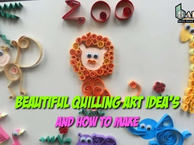 Paper Quilling Arts Create and Idea's | It's Very Simple