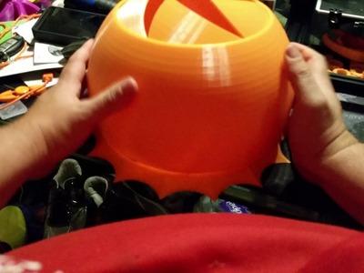 Today's 3D Print - Enormous Iris Box Part 3 of 3