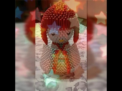3D ORIGAMI JAPANESE DOLL