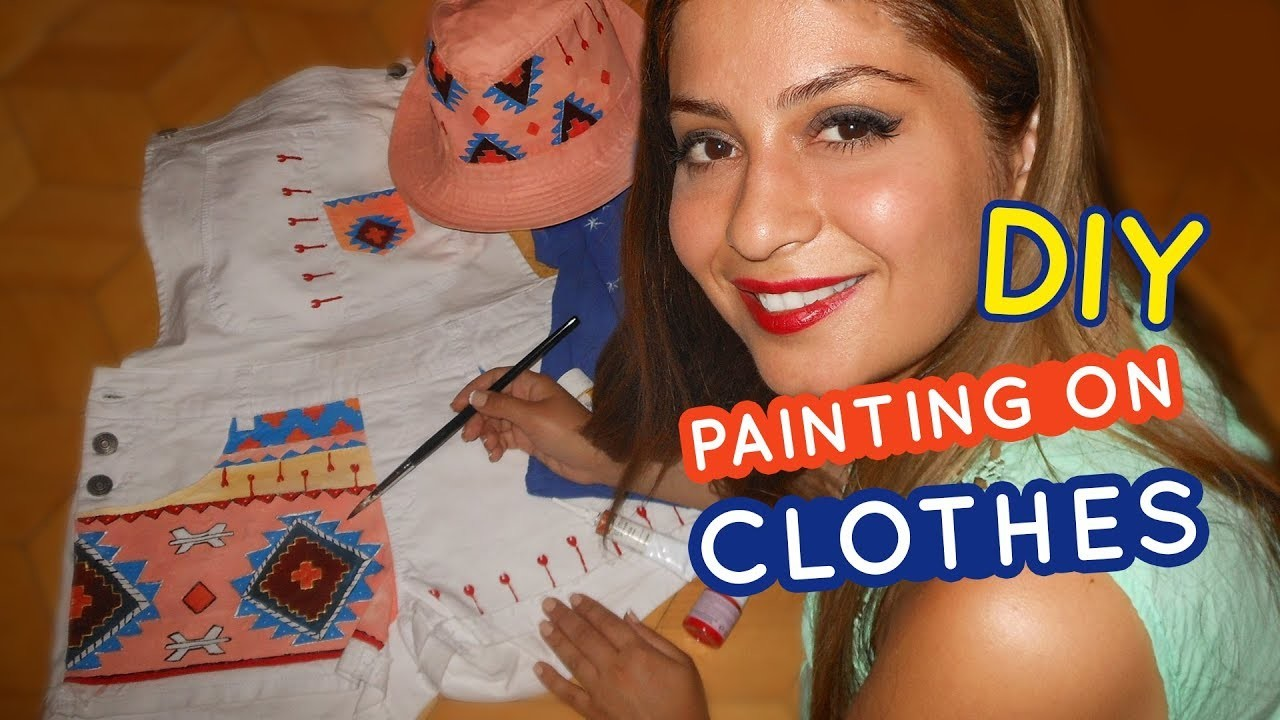 4 diy painting on clothes my crafts and diy projects for Paint on clothes