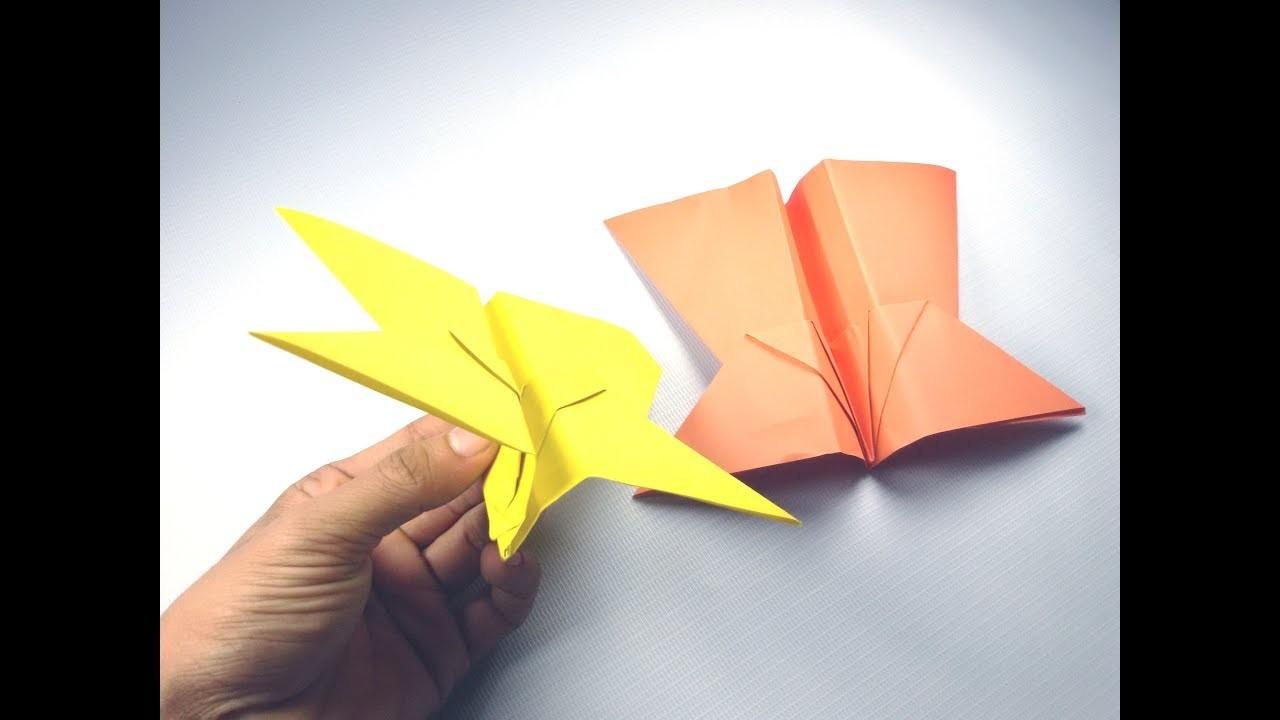 Best Ninja Paper Airplane Paper Plane Series How to fold the Original Looper