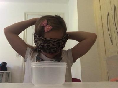 Blindfolded Slime Challenge Fail!