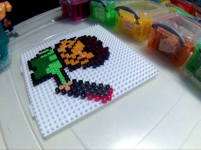 Hama Beads -  atari leatherface (Neca Toys Inspired)