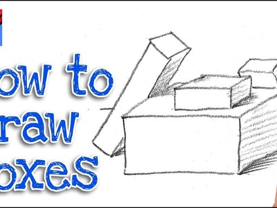How to draw boxes Real Easy - Step by Step