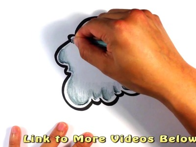 How to Draw Smoke - Cartoon - Easy Pictures to Draw