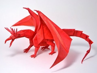 HOW TO MAKE A DRAGON WITH PAPER